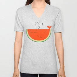 Don't let the seed stop you from enjoying the watermelon Unisex V-Neck