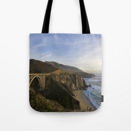 Bixby Bridge at Big Sur Tote Bag
