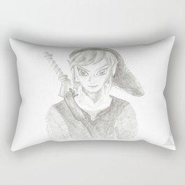 The Hero of Time Rectangular Pillow