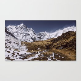 Being Majestic in the Himalayas Canvas Print