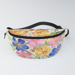Loose Autumn Bouquet Fanny Pack