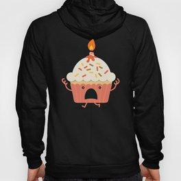 Cupcake on fire Hoody