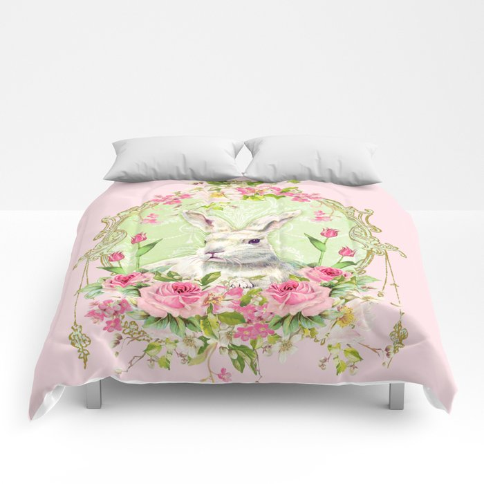 Spring Bunny Comforters