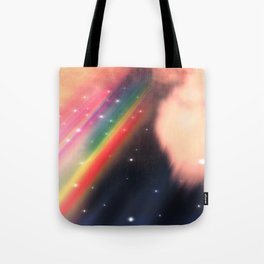 Under The Rainbow Sky 2 Tote Bag