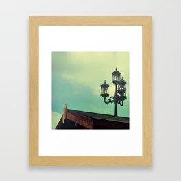 At Dusk Framed Art Print