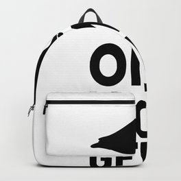 i love geese i love geese goose flying bird Backpack