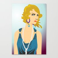 the great gatsby Canvas Prints featuring Gatsby by David Sparvero