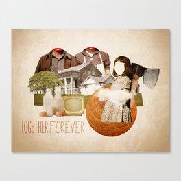 Together forever Canvas Print