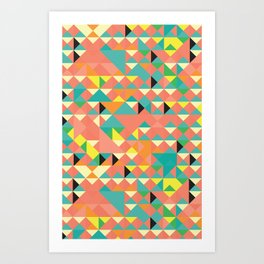 It's Geometric Art Print