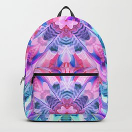 tropical bird feathers Backpack