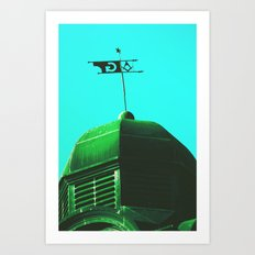 The Green Order Art Print