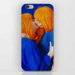 kiss (on being single) - wide iPhone Skin