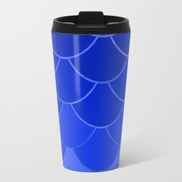 Blue Scales Travel Mug