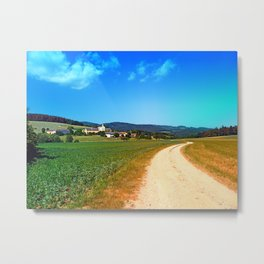 Another lonely hiking trail Metal Print