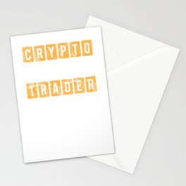 Distressed Crypto Trader Vintage Bitcoin Stationery Cards