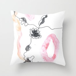 Scandi Micron Art Design | 170412 Telomere Healing 15 Throw Pillow