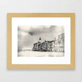 Venice - Study 50 Framed Art Print
