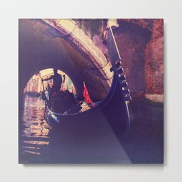 """Venice is like eating an entire box of chocolate liqueurs in one go.""  ― Truman Capote Metal Print"