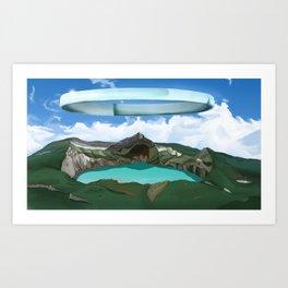 Tolnen Crater Art Print