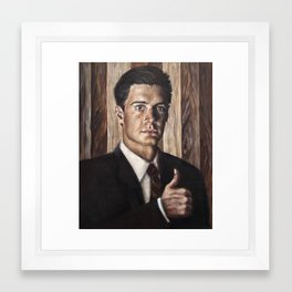 Agent Dale Cooper / Twin Peaks Framed Art Print