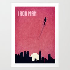 Iron Man Minimalist Poster Art Print