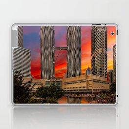 Petronas Towers Sunset Laptop & iPad Skin