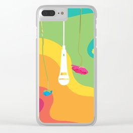 Rainbow Daydreaming Clear iPhone Case