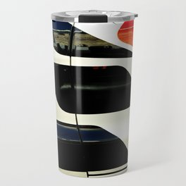Car Door Geometric Abstract Travel Mug