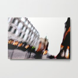 Malmo In Motion 5 Metal Print