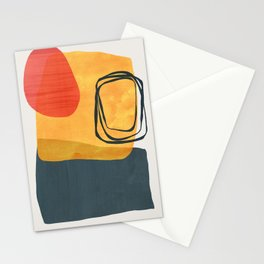 Shapes Absract 26 Stationery Cards