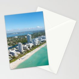 USA Photography - Coast Of Miami Stationery Cards