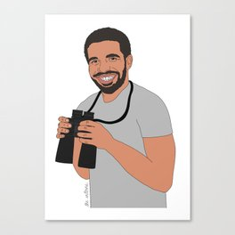 Views From The 6 // Drake Print  Canvas Print