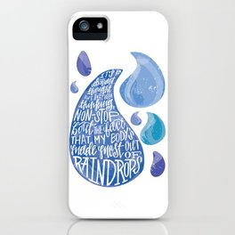 Saltwater Heart. [Switchfoot] iPhone Case