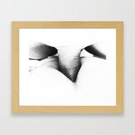 Hurrican: Fuck in Contrast Framed Art Print