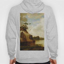 Catnip Island Near Greenwih Ct 1879 By David Johnson | Reproduction | Romanticism Landscape Painter Hoody
