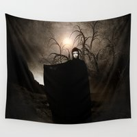 seal Wall Tapestries featuring The Seventh Seal by Viviana Gonzalez