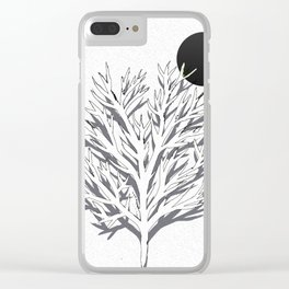 Moon food Clear iPhone Case