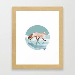 Run Foxy Run Framed Art Print