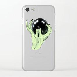 Crystallomancy Clear iPhone Case