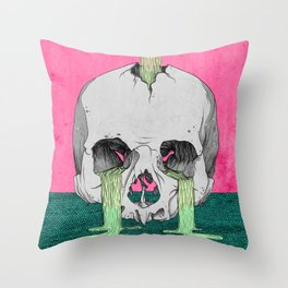 Reverie in Colour Throw Pillow
