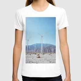Palm Springs Windmills IV T-shirt