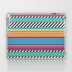 Colorful Washi Tape Graphic Laptop & iPad Skin