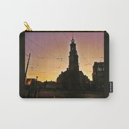 Tracks and Wires Carry-All Pouch