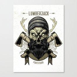 Fortitude (Lumberjack) Canvas Print