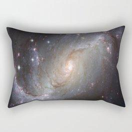 Galaxy Design Rectangular Pillow