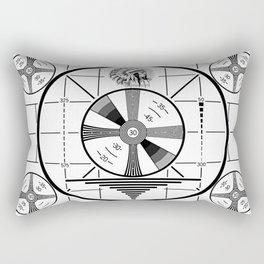 Indian-Head Test Pattern Rectangular Pillow
