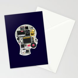 music memento Stationery Cards