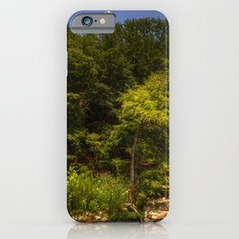 Image USA Gruene Texas HDRI Nature forest Rivers HDR Forests river iPhone Case
