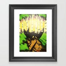 The Fox (Tenko King) Framed Art Print