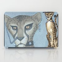 goth iPad Cases featuring Goth Cheetah by Sinccolor